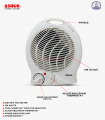 MAXX Electric Fan Heater (MX-117)